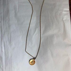'B' necklace - Kate spade